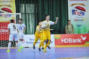 Vòng 16 Futsal HDBank VĐQG 2019: Nghẹt thở cuộc đua vô địch