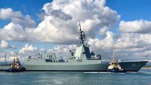 Australia thử nghiệm tàu khu trục lớp Hobart
