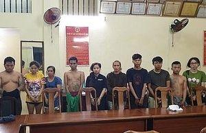 TP HCM: Triệt phá băng nhóm dàn cảnh trộm tài sản của 'khách làng chơi'