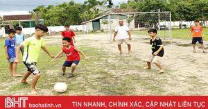 Người Sơn Hà 'thà nhịn ăn, không nhịn chơi thể thao…'