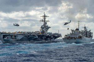 Mỹ đưa 55 tàu chiến đến Vịnh Ba Tư nhằm kiểm soát Iran?