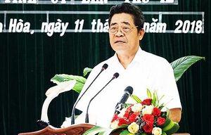 Bí thư Tỉnh ủy Khánh Hòa Lê Thanh Quang xin nghỉ hưu trước tuổi