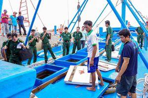 Ngăn chặn nạn buôn lậu trên vùng biển Sóc Trăng