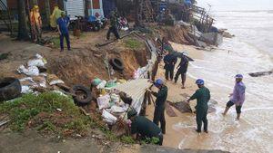 Tiếp diễn tình trạng sạt lở bờ biển ở Phú Quốc (tỉnh Kiên Giang) và tỉnh Bến Tre