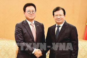 Phó Thủ tướng Trịnh Đình Dũng tiếp CEO Công ty phát triển tài sản Lotte