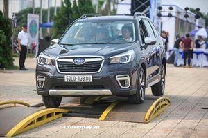 Trải nghiệm thực tế khả năng vượt địa hình cũng như công nghệ an toàn mới trên xe Subaru