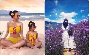 Bộ ảnh mẹ và con gái nắm tay nhau 'đi khắp thế gian' khiến nhiều người muốn sinh ngay 1 cô công chúa
