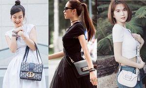 Sao Việt và mốt dùng túi hàng hiệu Dior