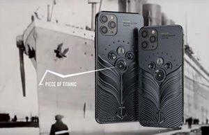 Phiên bản iPhone 11 được chế tác từ mảnh vỡ tàu Titanic và tàu vũ trụ Vostok-1, giá từ 784 triệu đồng