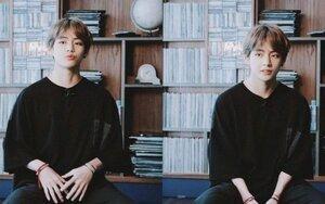 Mặc trang phục bình thường cũng vẫn thần thái, V (BTS) quả xứng đáng với danh hiệu top visual của làng K-Pop