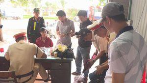CSGT bắt đối tượng trốn truy nã đi trộm cắp