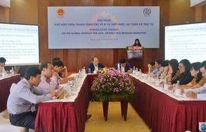 Bế mạc Hội nghị phổ biến Thỏa thuận GCM khu vực miền Trung thúc đẩy di cư an toàn