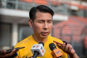 Gọi cầu thủ chấn thương đối đầu VN, HLV Tan Cheng Hoe nói gì?