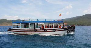 Chìm tàu chở khách trên vịnh Nha Trang