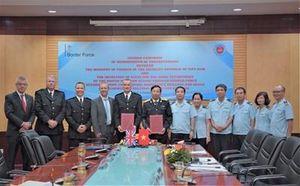 Hải quan Việt Nam hợp tác với Cơ quan Bảo bệ biên giới Vương quốc Anh