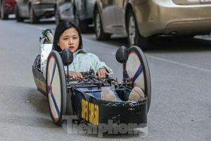 Chi tiết chiếc xe chạy hơn 1.000 km chỉ tốn một lít xăng xuất hiện ở Hà Nội