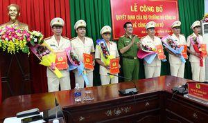 Công an tỉnh Đắk Nông công bố các quyết định điều động và bổ nhiệm các trưởng phòng