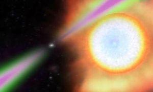 Tốc độ 'khủng' tia gama từ sao neutron quay 707 lần/ giây