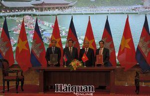 Ký kết bản ghi nhớ hợp tác Hải quan Việt Nam - Campuchia