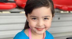 Biểu cảm ngộ nghĩnh của con gái mỹ nhân đẹp nhất Philippines