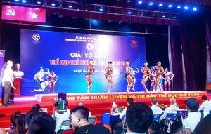 Hấp dẫn Giải vô địch Thể hình Hà Nội năm 2019