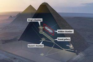 Hé lộ căn phòng tuyệt mật trong Đại kim tự tháp Giza