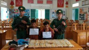 Phá dường dây ma túy lớn trên tuyến biên giới Quảng Bình
