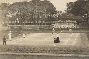 Loạt hình cực độc về môn tennis ở Việt Nam xưa