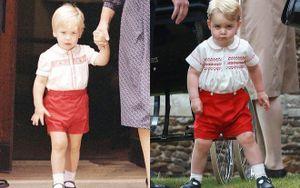 14 bức ảnh chứng minh bố con Hoàng tử William trông giống hệt nhau từ khi lọt lòng