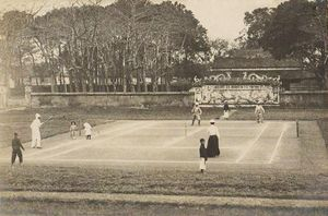 Những hình ảnh hiếm có về môn tennis hơn 1 thế kỷ trước ở Việt Nam