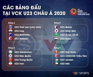 VTV chính thức sở hữu bản quyền truyền thông giải U23 châu Á trên lãnh thổ Việt Nam