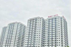 Long Biên: DA Ruby City CT3 bị xử phạt vì không đảm bảo vệ sinh môi trường