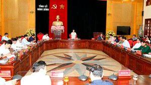 Cho ý kiến vào dự thảo Đề án Sắp xếp các đơn vị hành chính cấp xã thuộc tỉnh Ninh Bình, giai đoạn 2019 – 2021