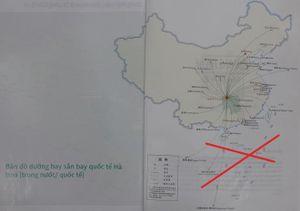 Vì sao ấn phẩm có đường lưỡi bò lọt vô Saigontourist?