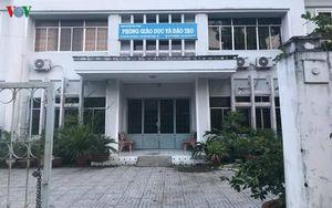 Ai 'chống lưng' cho Trưởng phòng GD&ĐT huyện Vĩnh Thuận?