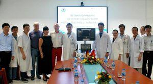 Bệnh viện Đà Nẵng tiếp nhận máy siêu âm tim trị giá 3,6 tỷ đồng