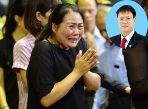 Lễ tang Thứ trưởng Bộ GD&ĐT Lê Hải An: Nghẹn ngào những dòng lệ tuôn rơi