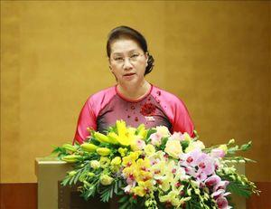 Phát biểu khai mạc kỳ họp thứ tám Quốc hội khóa XIV của Chủ tịch Quốc hội Nguyễn Thị Kim Ngân