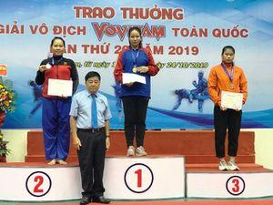 Vovinam Đồng Tháp giành 2 huy chương vàng giải vô địch toàn quốc