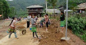 Đồng vốn ngân hàng góp phần xây dựng nông thôn mới