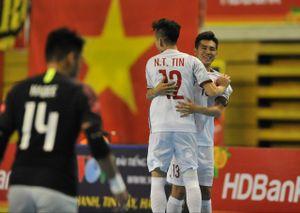 Việt Nam đối đầu Thái Lan ở bán kết giải futsal Đông Nam Á