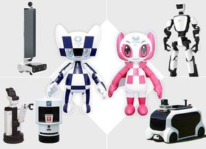 Olympic- Paralympic 2020 sẽ ngập tràn các robot thông minh hỗ trợ di chuyển của Toyota