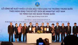 TH Milk là doanh nghiệp Việt Nam đầu tiên được cấp mã số xuất khẩu sữa sang Trung Quốc: 'Hoa thơm đã đơm trái ngọt'