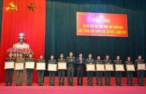 Bế mạc Hội thi giảng viên dạy giỏi môn học Giáo dục quốc phòng và an ninh lần thứ 5