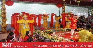 30 thanh đồng, cung văn cả nước tham gia Liên hoan Thực hành tín ngưỡng thờ Mẫu tại Hà Tĩnh