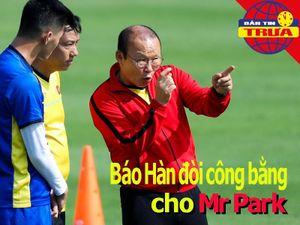 Báo Hàn đòi công bằng cho Mr Park; Linh vật SEA Games bị chê
