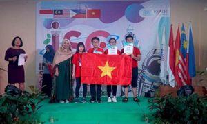 39 học sinh Việt Nam đều đoạt giải tại kỳ thi Khoa học quốc tế ISC 2019