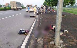 Nam Định: Tai nạn kinh hoàng lúc sáng sớm, 2 nam thanh niên thương vong
