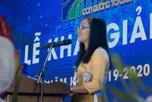 Bài phát biểu gây xúc động của tân sinh viên 63 tuổi trong ngày khai giảng