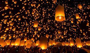 Chiêm ngưỡng lễ hội thả đèn trời huyền ảo ở Chiang Mai